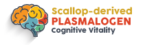 Scallop-derived PLASMALOGEN Logo